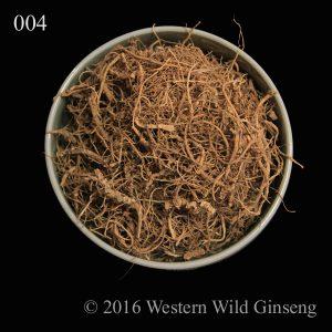Ginseng fiber